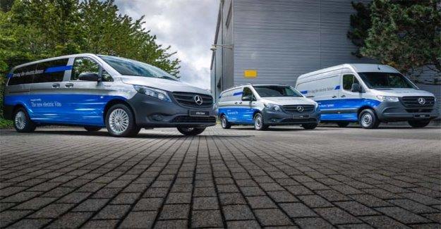 Un 2019 un registro para Mercedes-Benz Vans