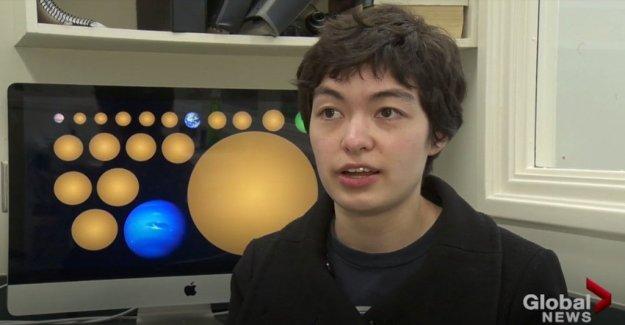 Un estudiante descubre 17 de planetas, uno en la zona habitable
