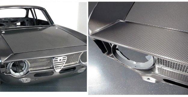Volviendo al mito de la Giulia GTA, pero ahora tiene el cuerpo todo en carbono: este es el último hechizo de Alfaholics