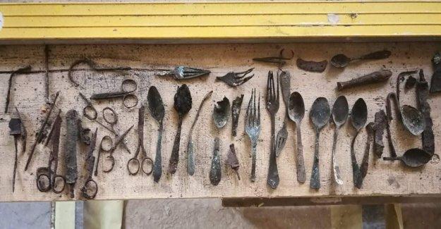 Auschwitz descubrimiento: el Secreto de los elementos ocultos por los presos encontrado en el campo de concentración sitio