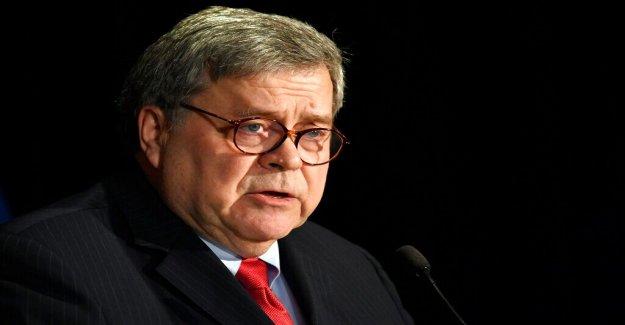 Barr dice que los estados unidos de valores democráticos son dependientes de NOSOTROS superando a China en el 5G carrera