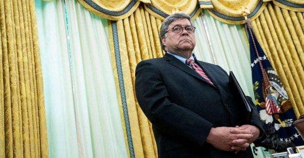 Barr reivindicaciones de las protestas fueron secuestrados como autoridades punto de agentes del estado