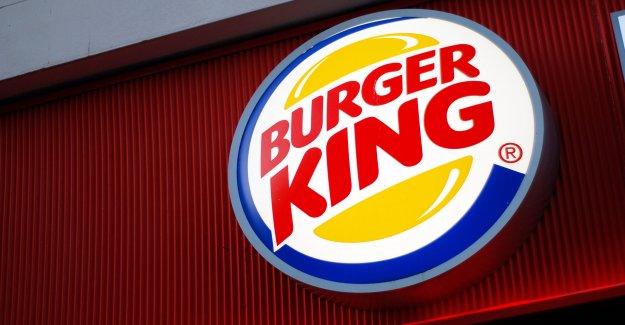 Burger King muestra de gran tamaño de la corona de distanciamiento social