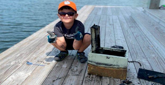 Carolina del sur chico, 6, carretes en hundida seguro, ayuda a romper el robo caso abierto