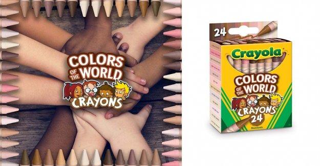 Crayola versiones colores del mundo lápices de colores que representan a más de 40 tonos de piel