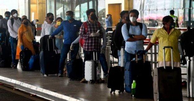 El caos en los aeropuertos de la India como el de reanudar los vuelos
