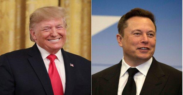 El espacio de la alianza: Elon Musk y el Presidente Trump conjunto histórico Demo-2 lanzamiento