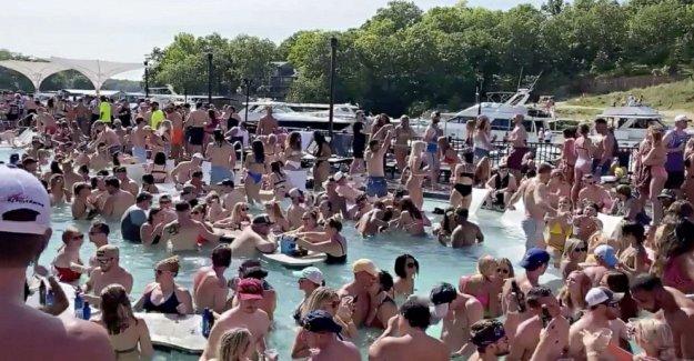 El lago de los Ozarks Día de los caídos partygoer pruebas positivas para COVID-19