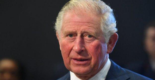El príncipe Carlos de problemas advertencia en las artes