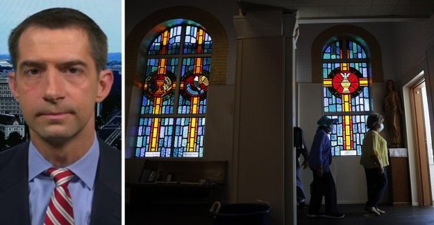 El senador Tom Algodón: 'No se han expendios y tiendas de marihuana abierto, pero cerca de las casas de culto'