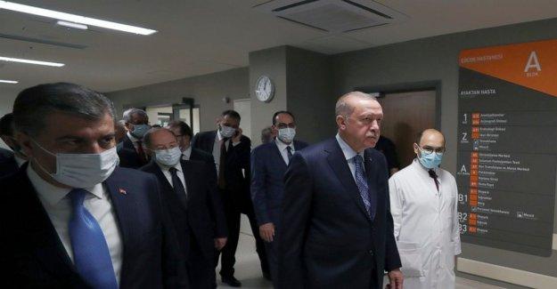 Erdogan, Trump reiterar la solidaridad contra COVID-19