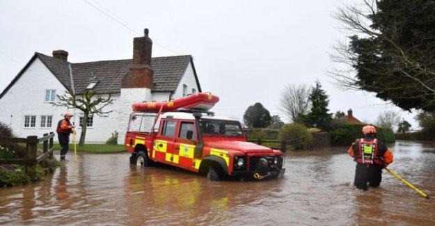 Futuras inundaciones que se demora la respuesta de emergencia