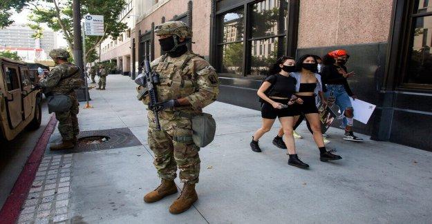 George Floyd disturbios: Grandes ciudades se preparan para los disturbios con tropas de la Guardia Nacional movilizada