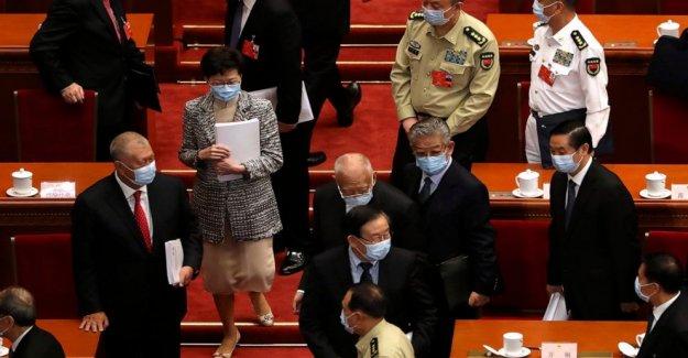 Hong Kong oposición critica China ley de seguridad nacional mover