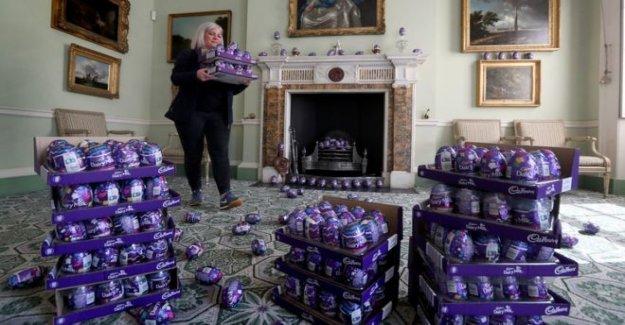 Huevo de Chocolate montaña debe ser regalado