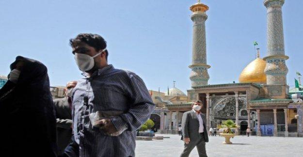Irán vuelve a abrir los santuarios después de dos meses de virus cierre