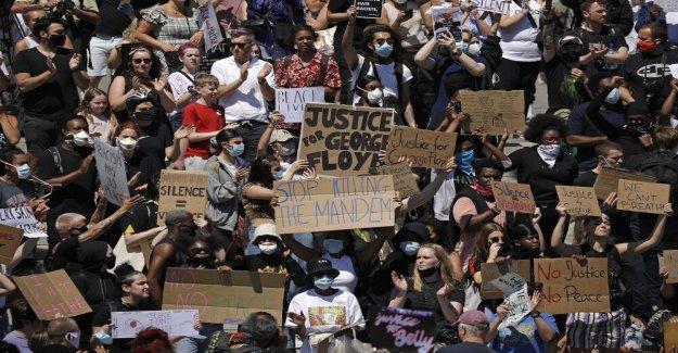 Las protestas desencadenadas por George Floyd de la muerte de obtener el apoyo de todo el mundo