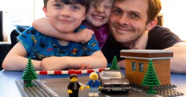 Los aficionados de Lego haciendo obras maestras de bloqueo de seguridad