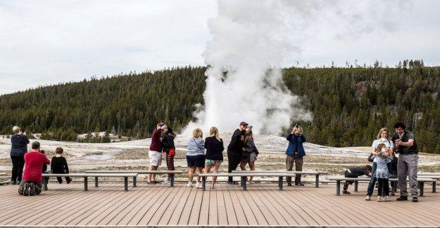 Los parques nacionales de esperanza a los visitantes cumplan con las medidas de antivirus