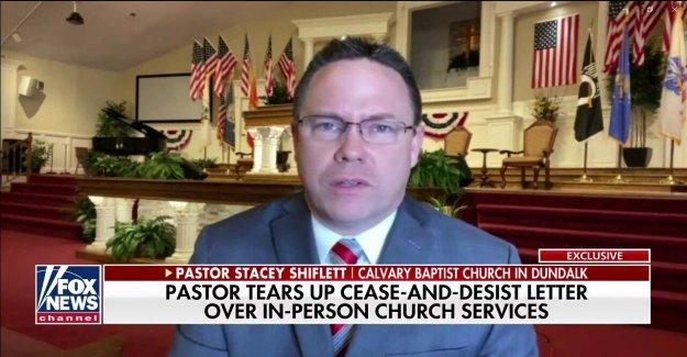 Maryland pastor que rallado orden de cierre: Es injusto, es injusto, es inconstitucional
