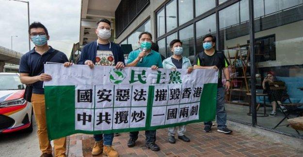 NOS condena a China de Hong Kong de la ley de seguridad