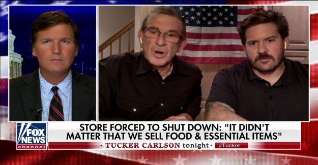 Nueva Jersey padre, hijo acusan a Murphy de escoger ganadores y perdedores' después de que su tienda se cierra