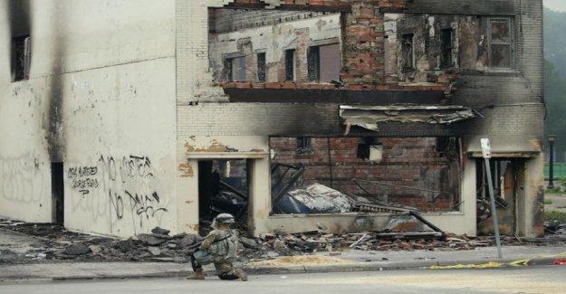 ¿Por qué una ciudad de estados unidos subió en llamas?