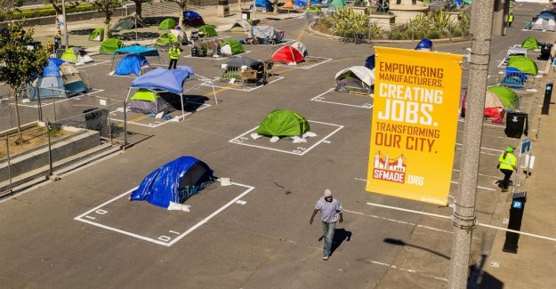 San Francisco de sanciones una vez rechazados campamentos de indigentes