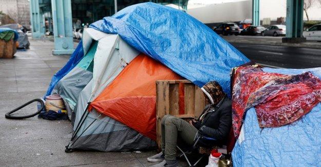 San Francisco se abre la 1ª sancionado campamento de tiendas de campaña para los sin techo