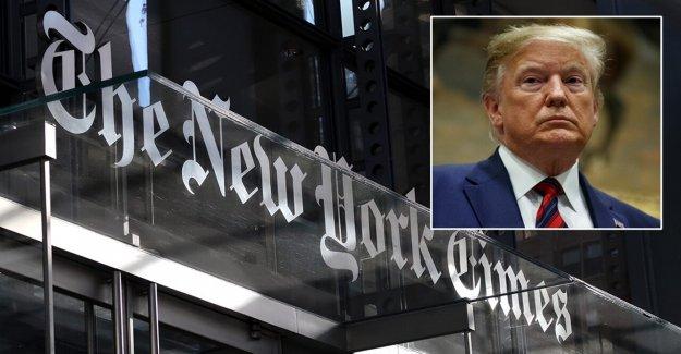 Trump slams NY Times editor, publicador: 'me río de todos ellos'