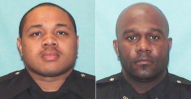 6 Atlanta oficiales acusados en la detención de los estudiantes universitarios arrastrado desde el coche, golpeó con armas de electrochoque