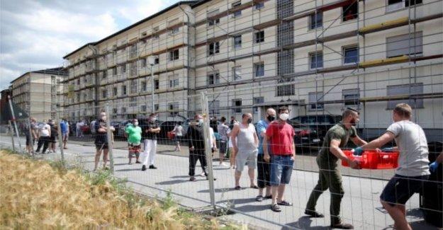 Alemania brote de chispas frescos de la zona de bloqueo de seguridad