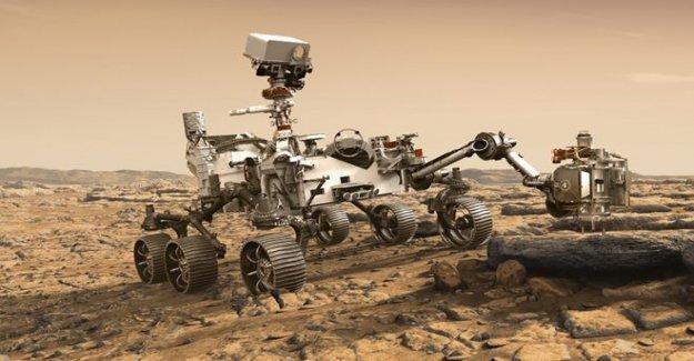 América del próximo rover de Marte se llama Perseverancia