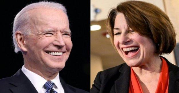 Amy Klobuchar gotas de Biden, VICEPRESIDENTE de contención