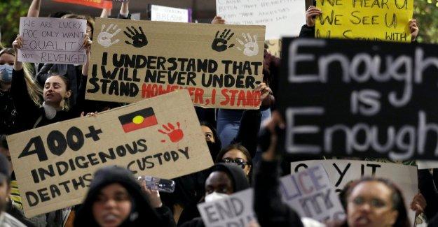 Australia se une a las protestas en contra de Floyd muerte, la demanda de investigaciones sobre la brutalidad policial en contra de los Aborígenes
