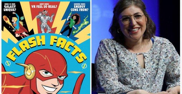 Bialik y Batman: el Actor se une con la DC para el libro de ciencias