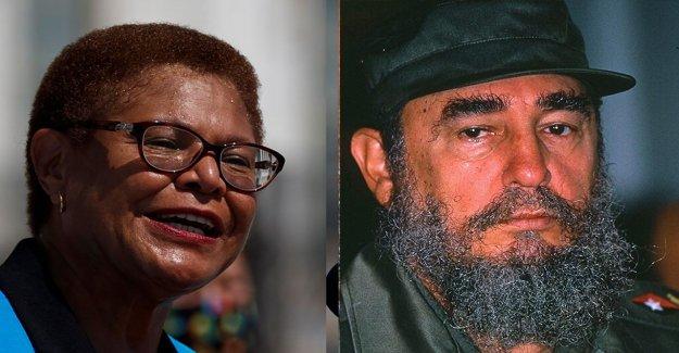 Biden VICEPRESIDENTE de esperanza Karen Bass se estrelló el pasado alabanza de Fidel Castro: informe
