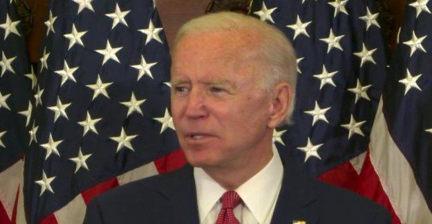 Biden se cierra en afianzaban la nominación presidencial Demócrata