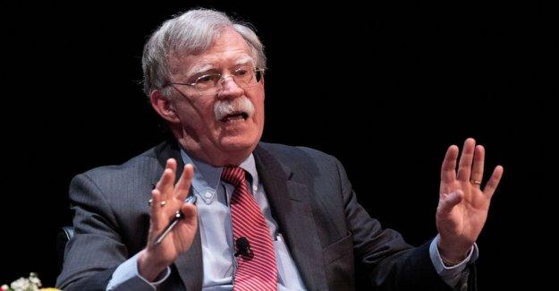 Bolton libro podría causar  graves daños a la seguridad nacional de estados unidos: Top de intel funcionarios