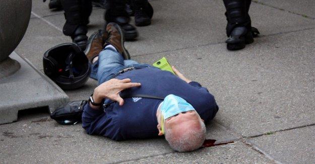 Buffalo manifestante derribado al suelo por parte de la policía está fuera del hospital semanas más tarde, el abogado afirma que