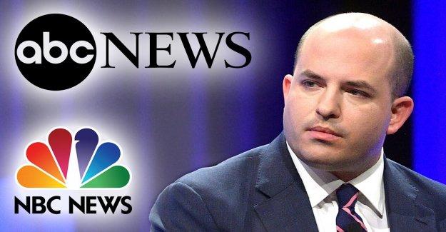 CNN Brian Stelter salta de la red de controversias en los medios de comunicación muestran, en gran parte se centra en la anulación de Trump rally