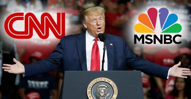 CNN, MSNBC cubiertos a menos de 4 minutos de Trump rally a pesar de todo el día Tulsa cobertura, señala un estudio