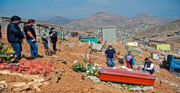 Cómo Perú bloqueado temprano, pero tengo mal golpe