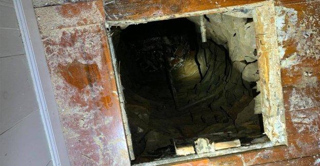 Connecticut bomberos de rescate de hombre después de caer a un pozo abandonado en una casa histórica