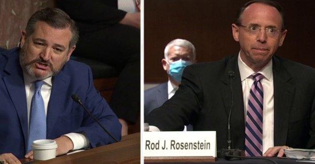 Cruz slams Rosenstein en Rusia de la sonda, dice que fue 'cómplice' o 'negligente'