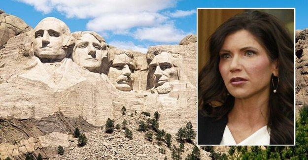 Dakota del sur Gob. Noem votos para proteger Mt. Rushmore: no Nos representan la radical de la reescritura de la historia