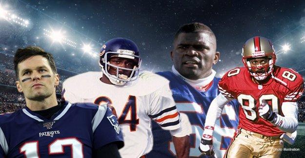 De la NFL de todos los tiempos del Monte Rushmore: 4 mejores jugadores en la historia de la liga