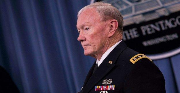 Dempsey: el Triunfo del 'inflamatoria amenaza para uso en servicio activo de las tropas NOS duele militar