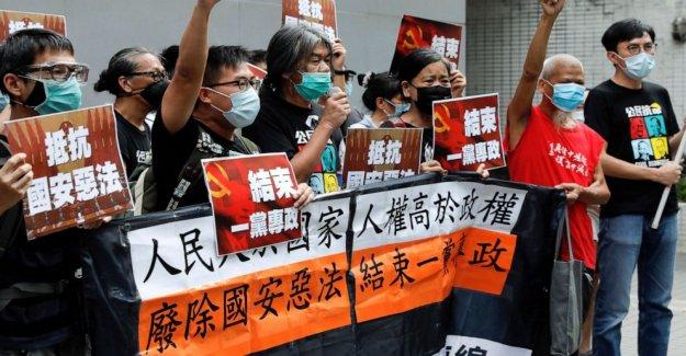 Después de la seguridad de la aprobación de la ley, Hong Kong marcas de China regla