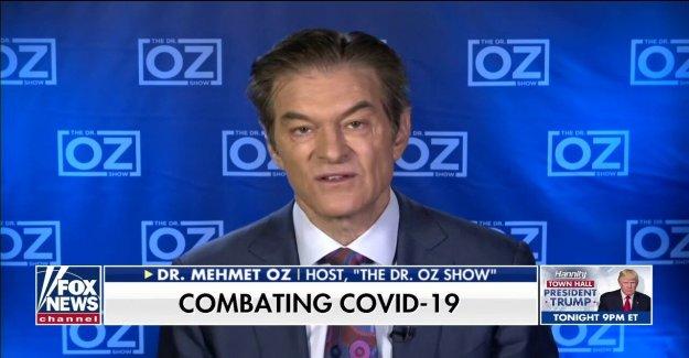El Dr. Oz dice que los Estadounidenses han 'metido descuidado' contra COVID-19: El virus no se ha terminado con nosotros todavía'